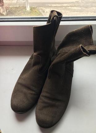 Замшеві черевички 38 рр aeo