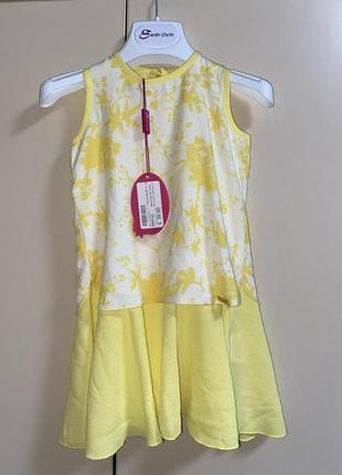 Легкое платье на девочку 2-3 годика