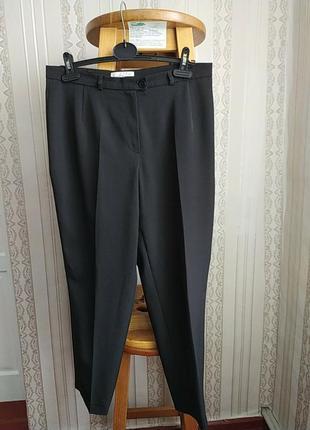 Актуальные женские офисные брюки с высокой посадкой мом от  fair lady ирландский бренд