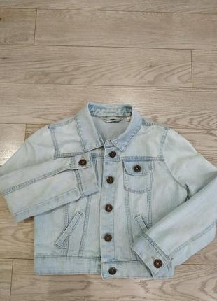 Джинсовая курточка, пиджак  new look  для девочки11 -13лет