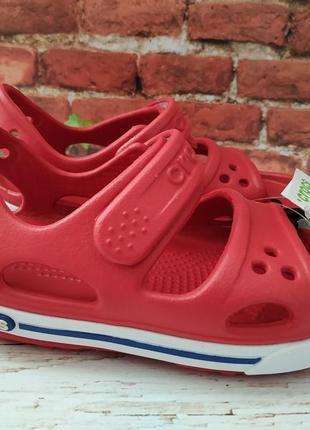 Оригинал! босоножки сандалии crocs crocband ii c8, c9, c12, j1, j2