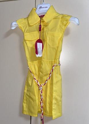 Платье на девочку 2-3 годика, италия