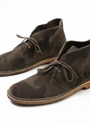 Clarks desert camo boots мужские ботинки