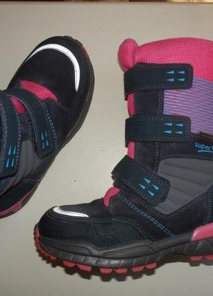 Зимние сапоги ботинки superfit 33р