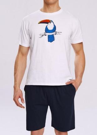 Распродажа! мужская хлопковая пижама atlantic оригинал