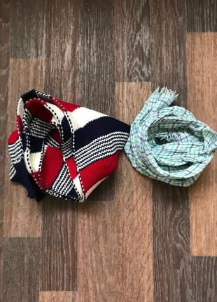 Теплый шарф 116-140 см