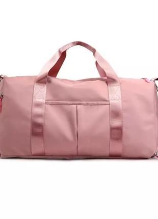 Спортивная сумка. женская сумка для тренировок, в бассейн.дорожная сумка ксс67