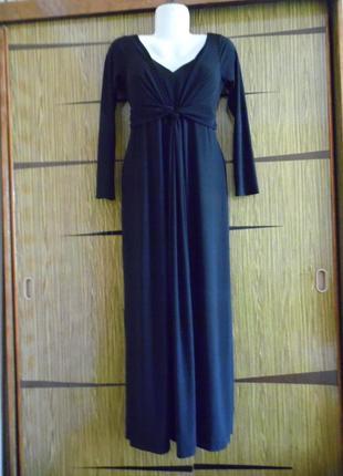 Платье в пол bhs размер 10(38) – идет на 44-46+