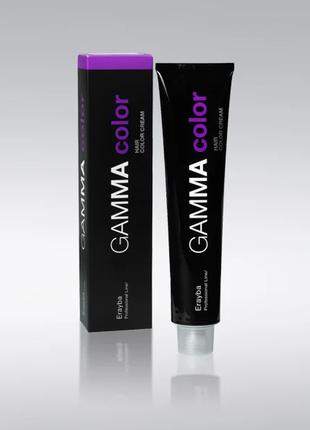Фарба erayba gamma color conditioning haircolor cream 1+1.5 в кольорі 6/00+