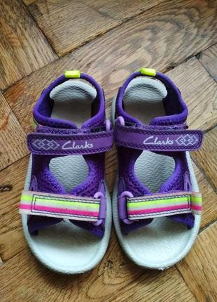 Босоножки clarks, босоніжки, сандалии