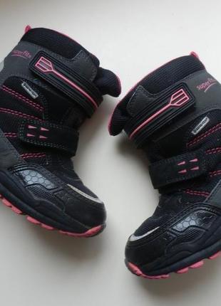 Зимние ботинки superfit 28р 18,5см