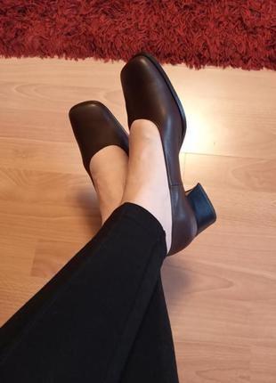 Италия.класс люкс! шикарные,кожаные туфли,туфельки,лодочки,широкий каблук.