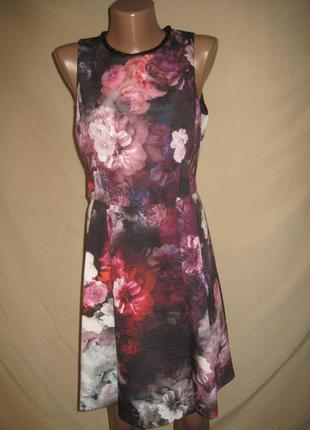 Красивое платье oasis р-р10,