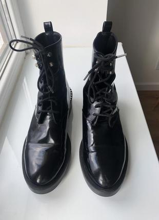 Оригинальные ботинки zara trafaluc 👌🌹1 фото
