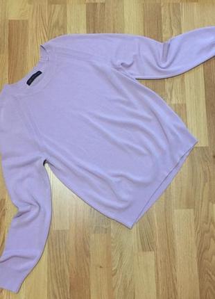 Пуловер лиловый m&s
