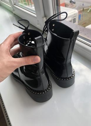Оригинальные ботинки zara trafaluc 👌🌹2 фото