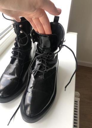 Оригинальные ботинки zara trafaluc 👌🌹9 фото