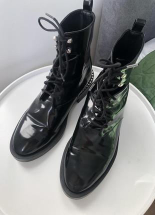 Оригинальные ботинки zara trafaluc 👌🌹10 фото