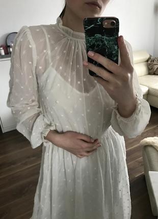 Платье h&m/ шифонова сукня