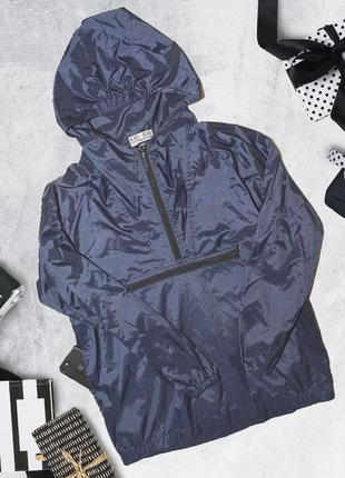Куртка ветровка анараки с капюшоном и карманами kag bag