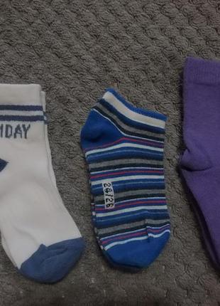 Набор носочков (хлопок) на мальчика 2-3 лет, фирменных