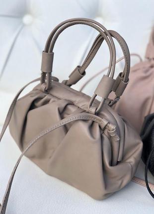 Кожаная сумка италия сумочка шкіряна