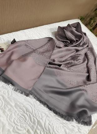 ♥️невероятный турецкий шелковистый палантин шарф шаль