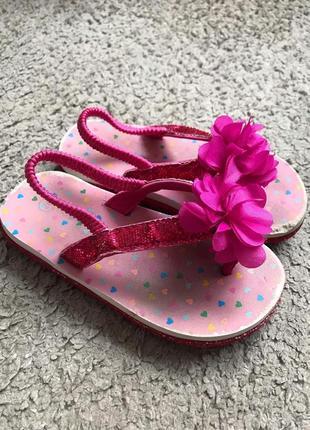 Літні дитячі сандалі