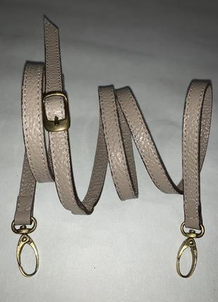 Кожаный ремень для сумки