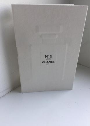 Chanel n5 l`eau - туалетная вода (пробник) (2ml)