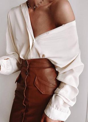 Трендовая юбка карандаш h&m