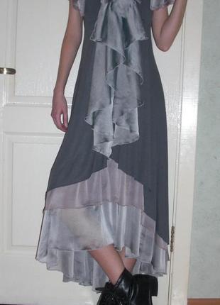 Роскошное платье в стиле бохо
