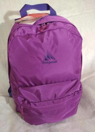 Рюкзак фиолетового цвета, городской
