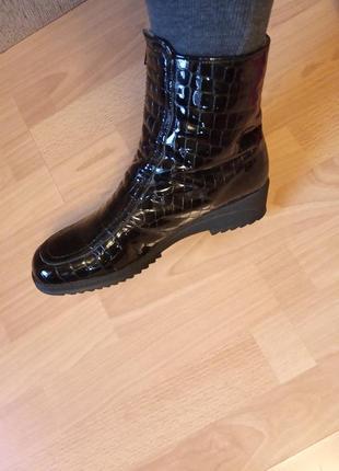 Германия,люкс!новые!зимние!шикарные,кожаные ботинки,полусапоги,полусапожки,полуботинки