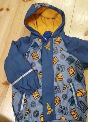 Куртка дощовик на флісі