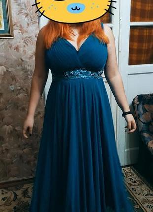 Платье вечернее в пол