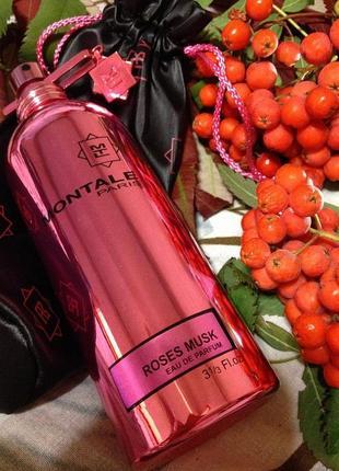 Roses musk montale_original_eau de parfum 5 мл_затест