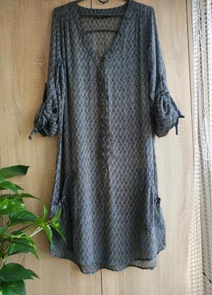 Стильное пляжное платье из вискозы от didi