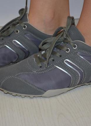 Полуботинки, кроссовки geox р. 40 по стельке 26, 5 см