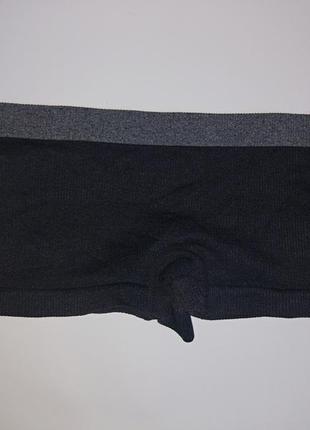 Классные удобные трусики-шортики,р-р 6-8,на xs-s,низкие,сток