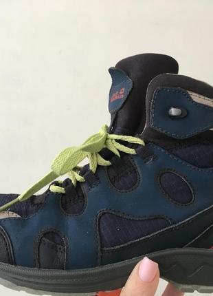 Трекинговые ботинки кроссовки jack wolfskin размер 37
