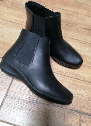 Ботинки челси. кожа. inblu