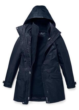 3 в 1 высокотехнологичная куртка-парка с флиской, мембрана 3000, tcm tchibo