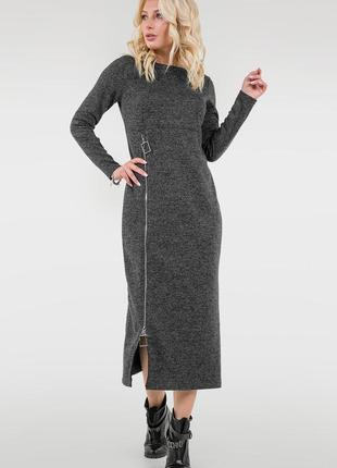 Стильное теплое платье свободного кроя. бренд v&v
