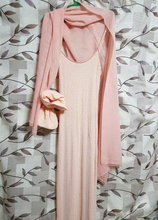 Платье вечернее, набор