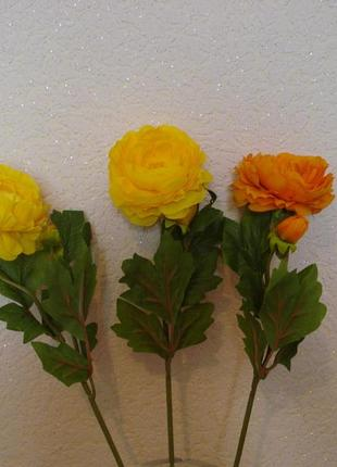 Искусственные цветы камелии
