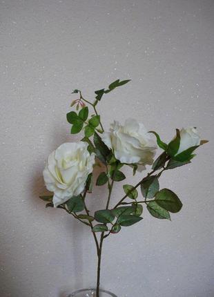 Искусственные цветы розы