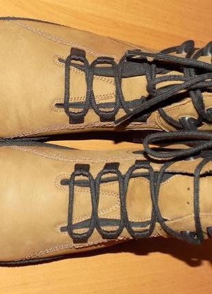 Кожаные женские фирменные ботинки от helvesko 41 р на широкую ножку