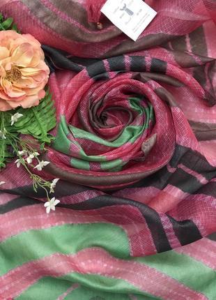 Дизайнерский ♥️😎♥️ шелковый шарф палантин anupama bose.