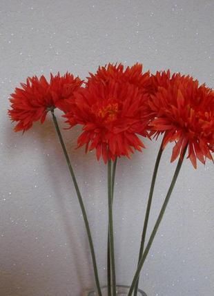 Искусственные цветы герберы